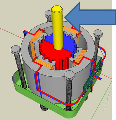 stepper motor working principle pdf
